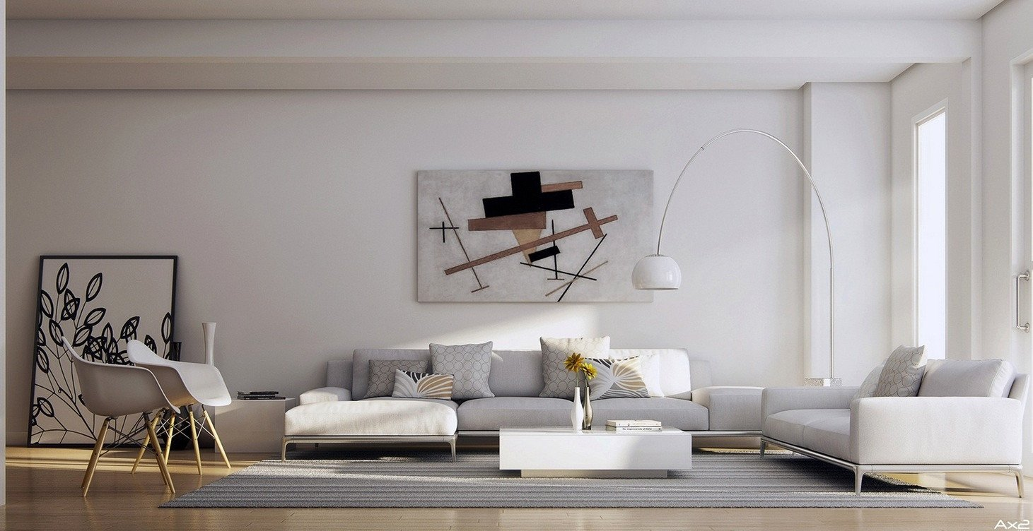 Modern Living Room Wall Decor Beautiful 25 Tasteful Living Rooms