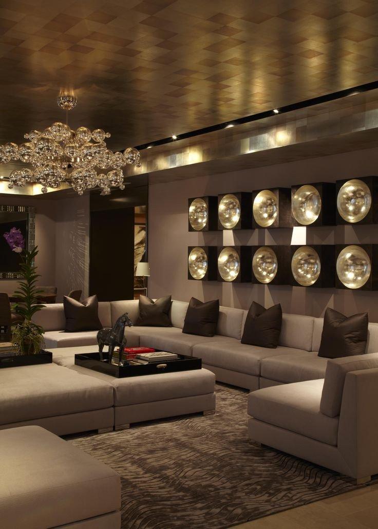 Modern Living Room Wall Decor New 30 Luxurious Living Room Design Ideas