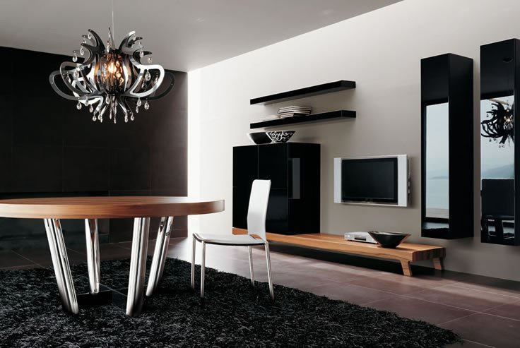 Modern Living Room Wall Decor Unique 40 Contemporary Living Room Interior Designs