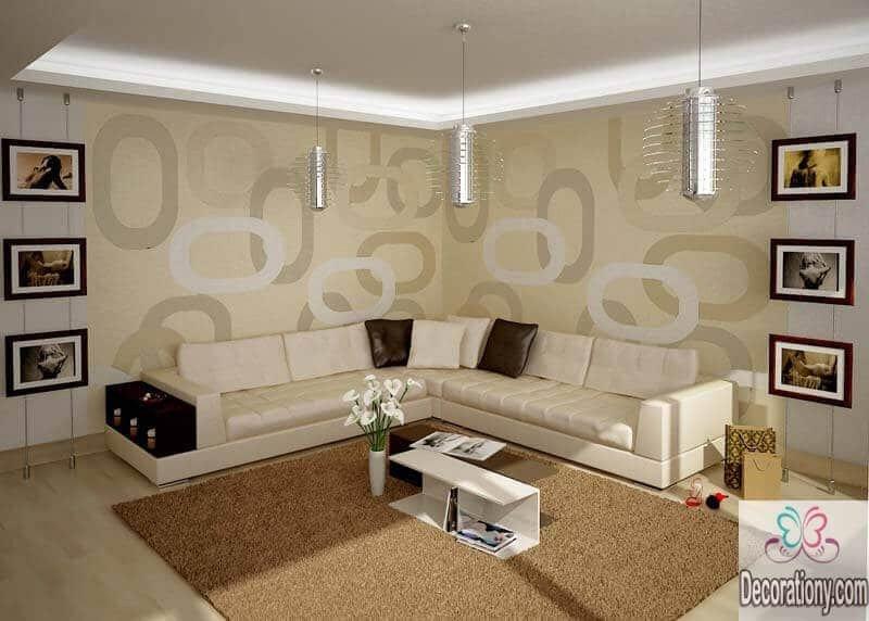 Modern Living Room Wall Decorating Ideas Beautiful 45 Living Room Wall Decor Ideas