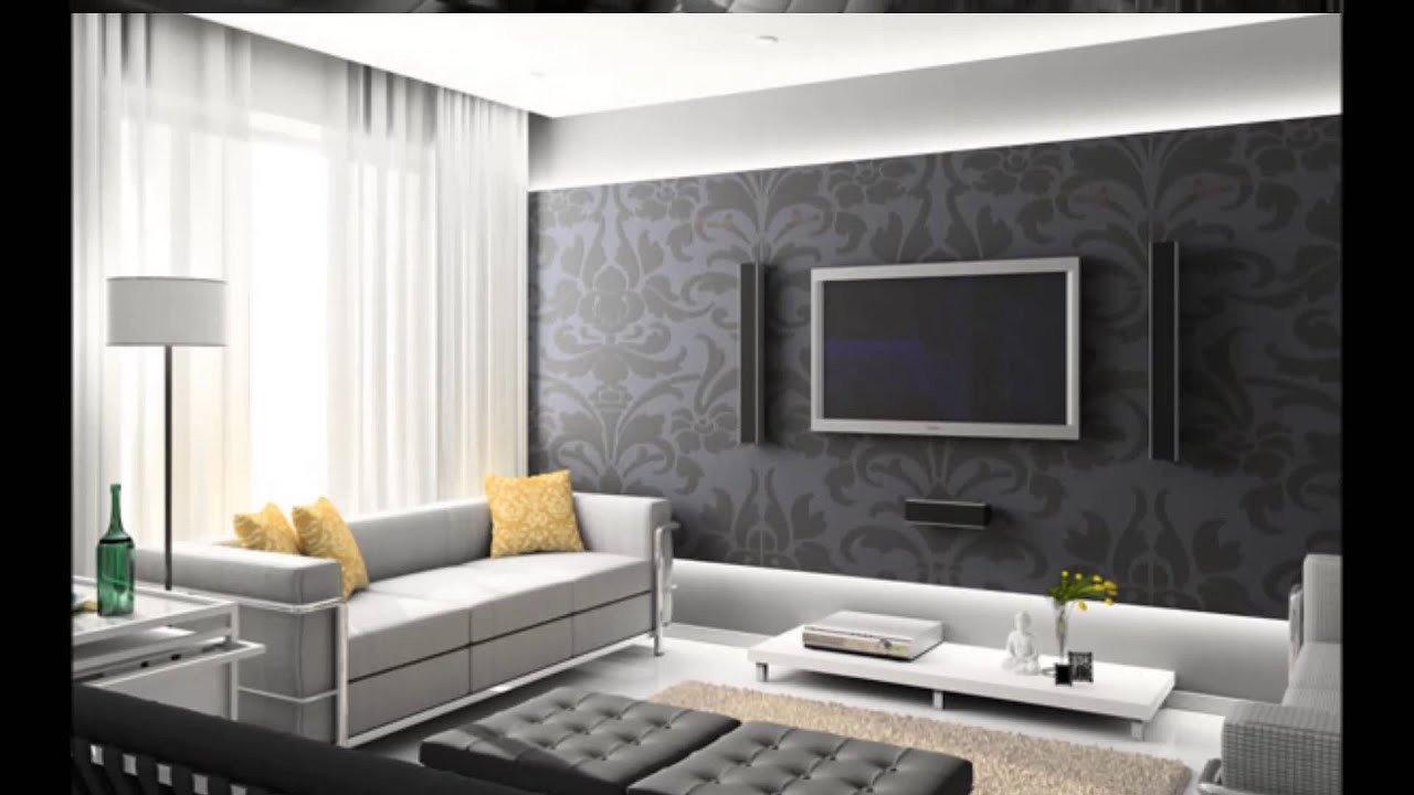 Modern Living Room Wall Decorating Ideas Best Of Tv Arkası Duvar Dekorasyonu Taş Kaplama