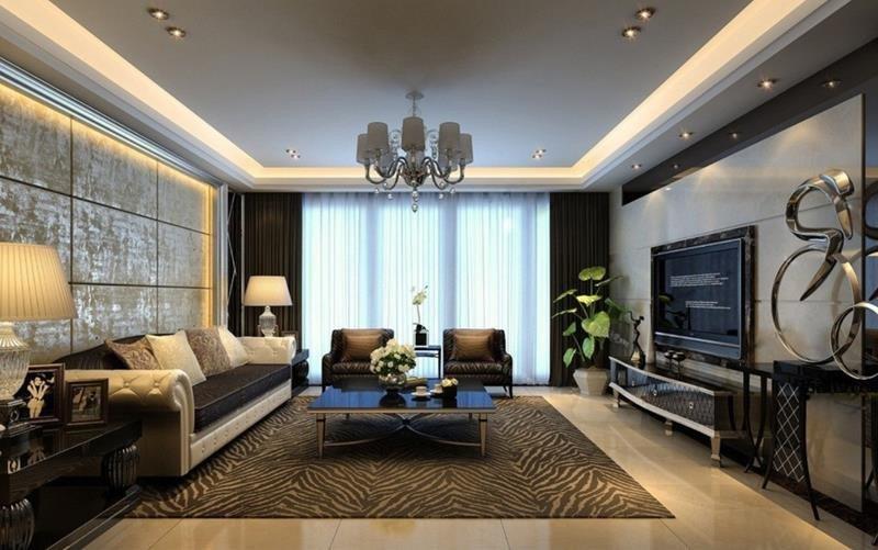 Modern Living Room Wall Decorating Ideas Elegant 50 Ideas for Modern Living Room Design