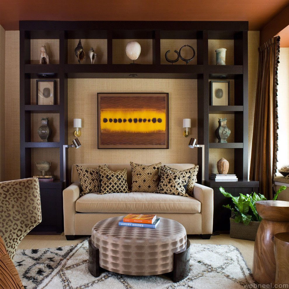 Modern Living Room Wall Decorating Ideas Elegant Modern Living Room San Francisco Best Interior Design 12