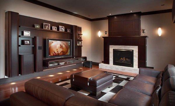 Modern Living Room Wall Decorating Ideas Fresh Modern Masculine Living Room Designs