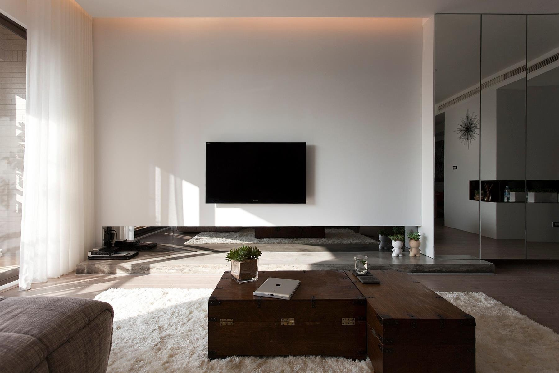 Modern Living Room Wall Decorating Ideas Lovely fortable Contemporary Decor