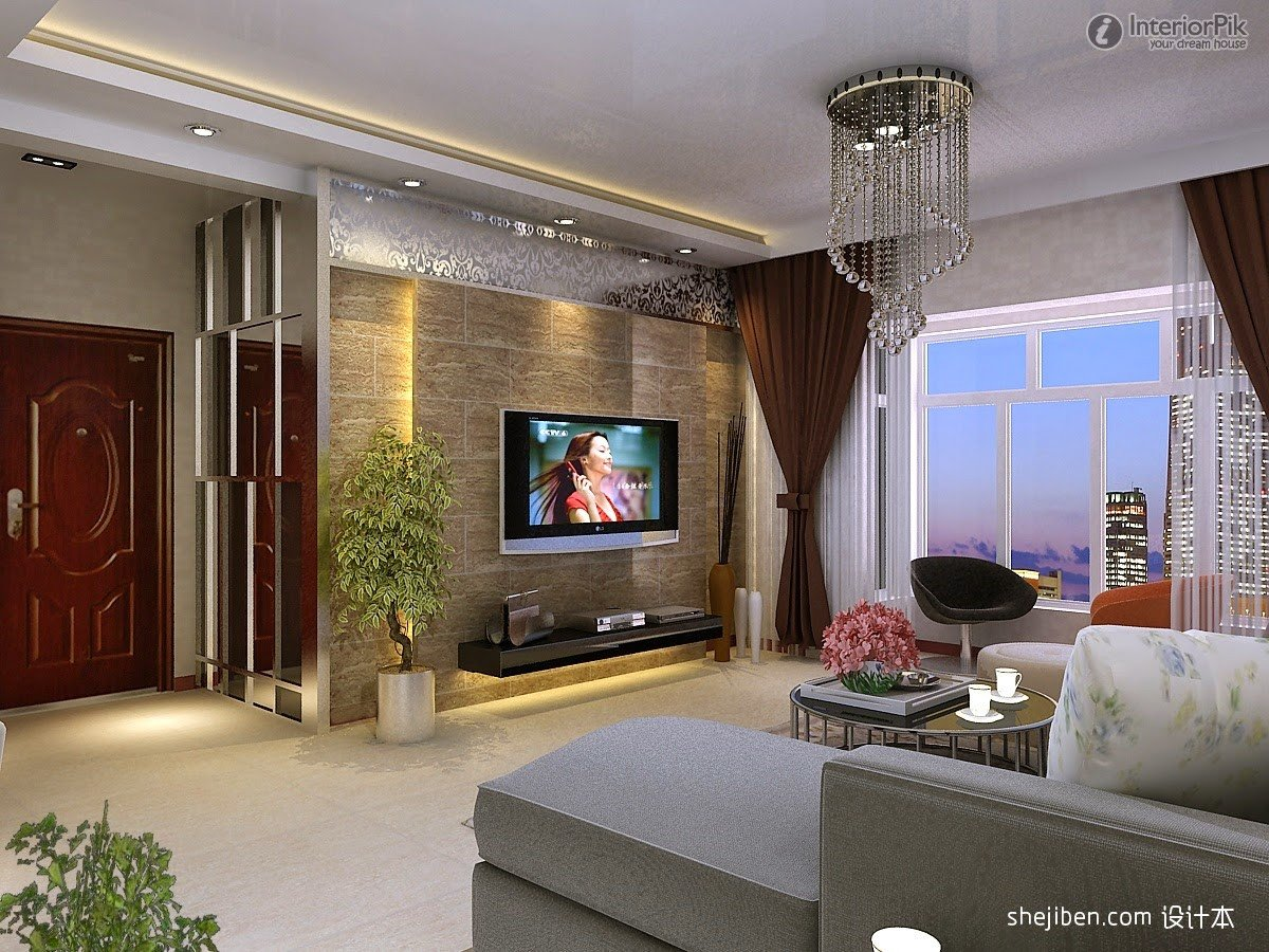 Modern Living Room Wall Decorating Ideas Lovely Modern Tv Walls Ideas Wikalo My Home Design and Decor