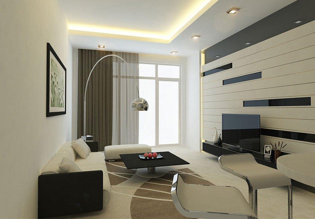 Modern Living Room Wall Decorating Ideas Luxury Modern Living Room Wall with Striped Decor Interior Design Ideas