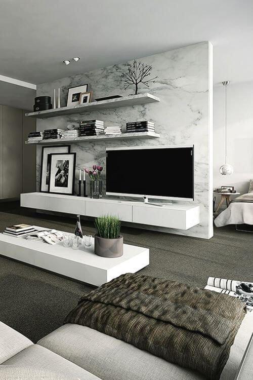 Modern Living Room Wall Decorating Ideas Unique 40 Tv Wall Decor Ideas