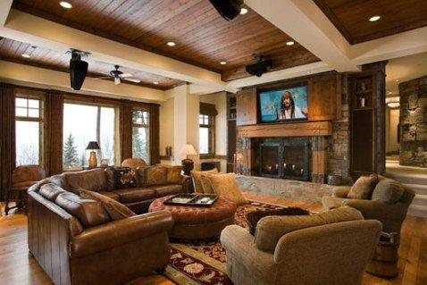 Modern Rustic Living Room Decorating Ideas Beautiful Rustic Contemporary Interior Design Ideas Interior Design
