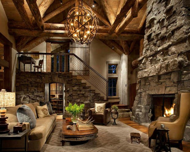 Modern Rustic Living Room Decorating Ideas Elegant 40 Awesome Rustic Living Room Decorating Ideas Decoholic