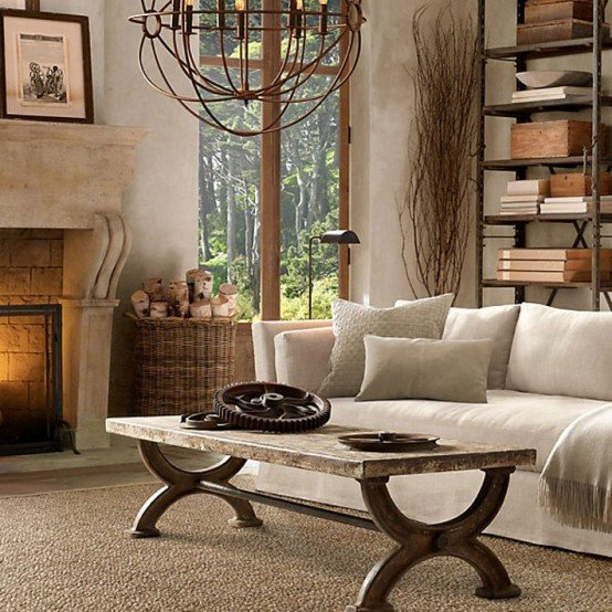 Modern Rustic Living Room Decorating Ideas Fresh 55 Airy and Cozy Rustic Living Room Designs Digsdigs