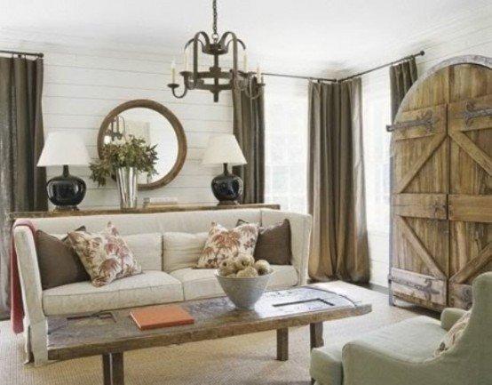 Modern Rustic Living Room Decorating Ideas Inspirational 55 Airy and Cozy Rustic Living Room Designs Digsdigs