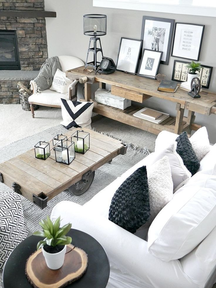 Modern Rustic Living Room Decorating Ideas Lovely Bringing the Outdoors In Easy Home Decor Ideas