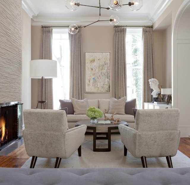Modern Transitional Living Room Decorating Ideas Inspirational Brooklyn Brownstone Contemporary Living Room New York by the Elegant Abode