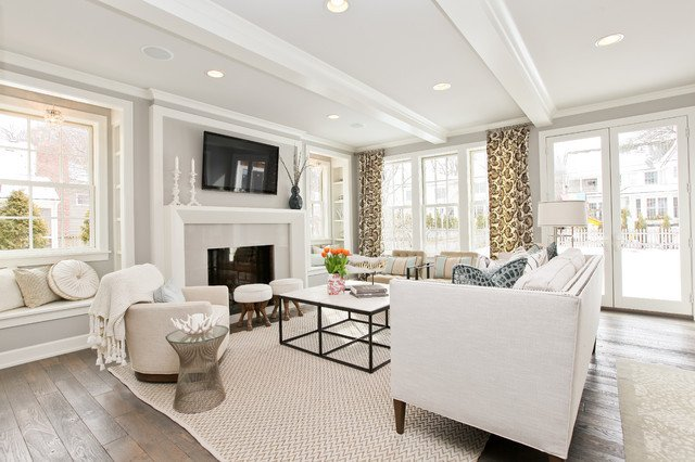 Modern Transitional Living Room Decorating Ideas Inspirational Modern Cottage Dream Home In Edina