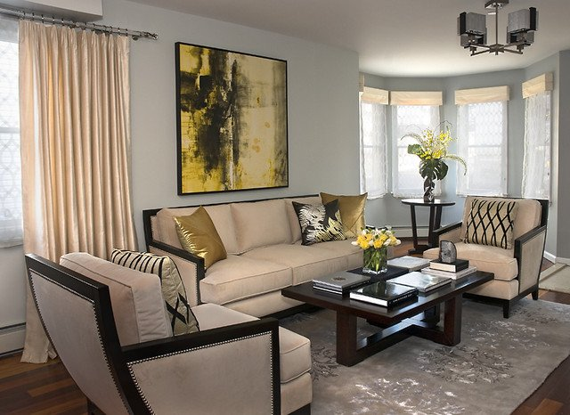 Modern Transitional Living Room Decorating Ideas Lovely Transitional Living Room Contemporary Living Room New York by House Of Style & Design