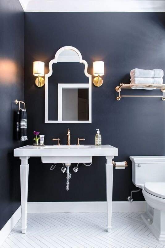 Navy and White Bathroom Decor Awesome 25 Best Ideas About Navy Bathroom On Pinterest