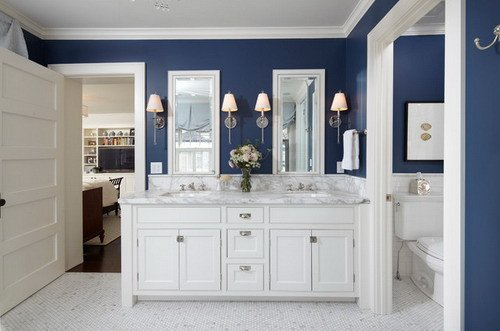 Navy and White Bathroom Decor Beautiful Easy Tips to Help You Decorating Navy Blue Bathroom Home Decor Help