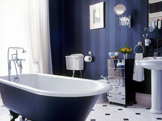Navy and White Bathroom Decor Best Of 19 Best Images About Marine Style Navy Bathrooms On Pinterest