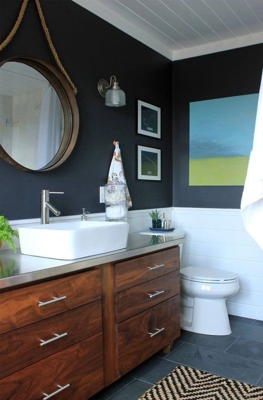 Navy and White Bathroom Decor Fresh 25 Best Ideas About Navy Bathroom On Pinterest