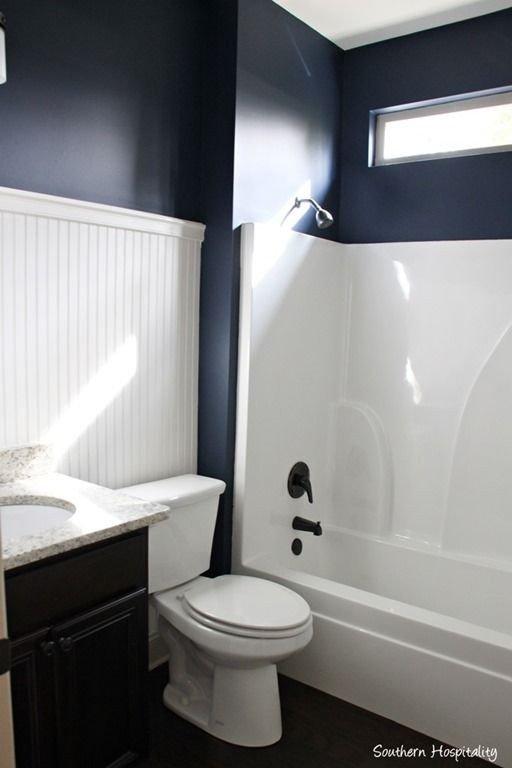 Navy and White Bathroom Decor Inspirational Navy Bathroom Decorating Ideas