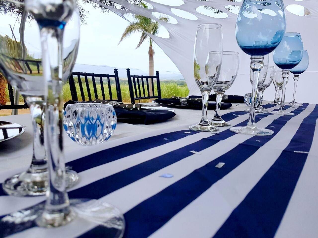 Navy Blue and White Decor Elegant Black Navy Blue and White Party Decor Shongaevents Shongaevents
