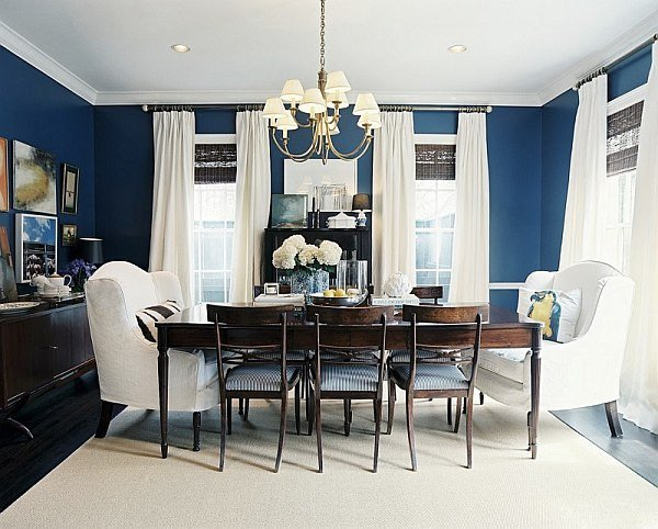 Navy Blue and White Decor Fresh Dining Out In Your New Navy Blue Dining Room