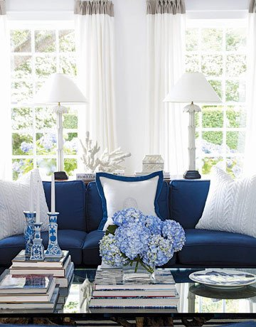 Navy Blue and White Decor Luxury Color Inspiration Navy Blue White