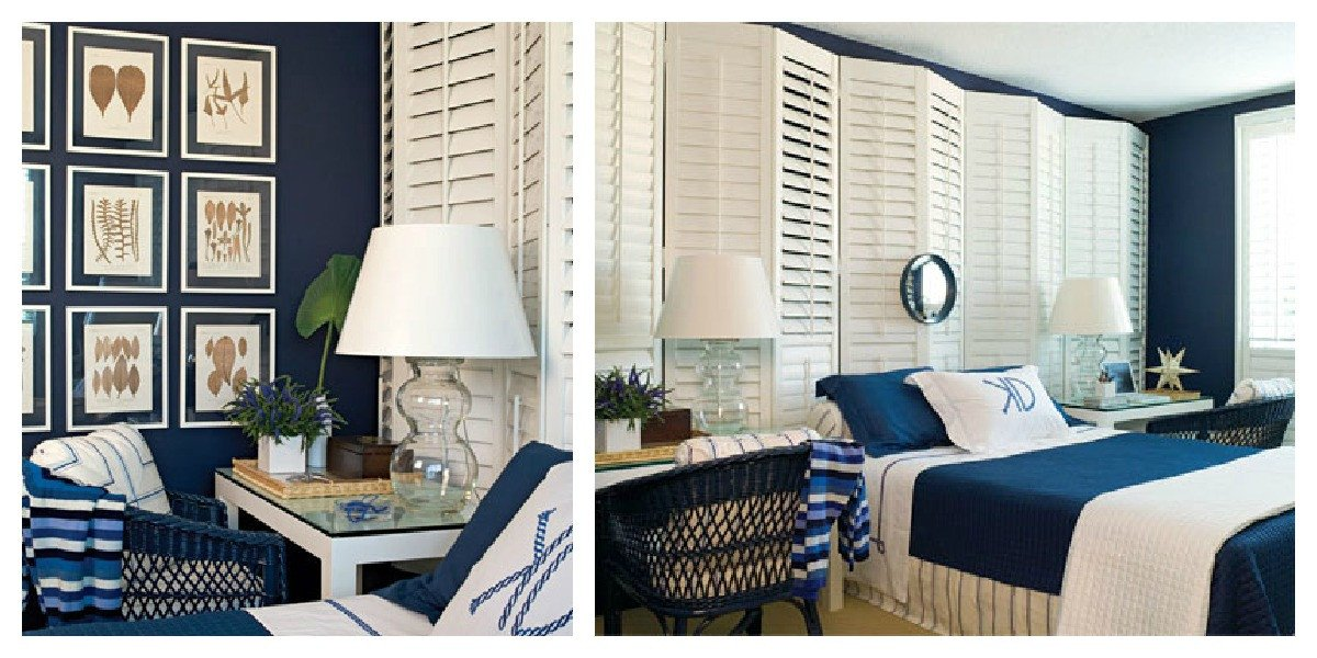 Navy Blue and White Decor Unique Color Roundup Using Navy Blue In Interior Design the Colorful Beethe Colorful Bee