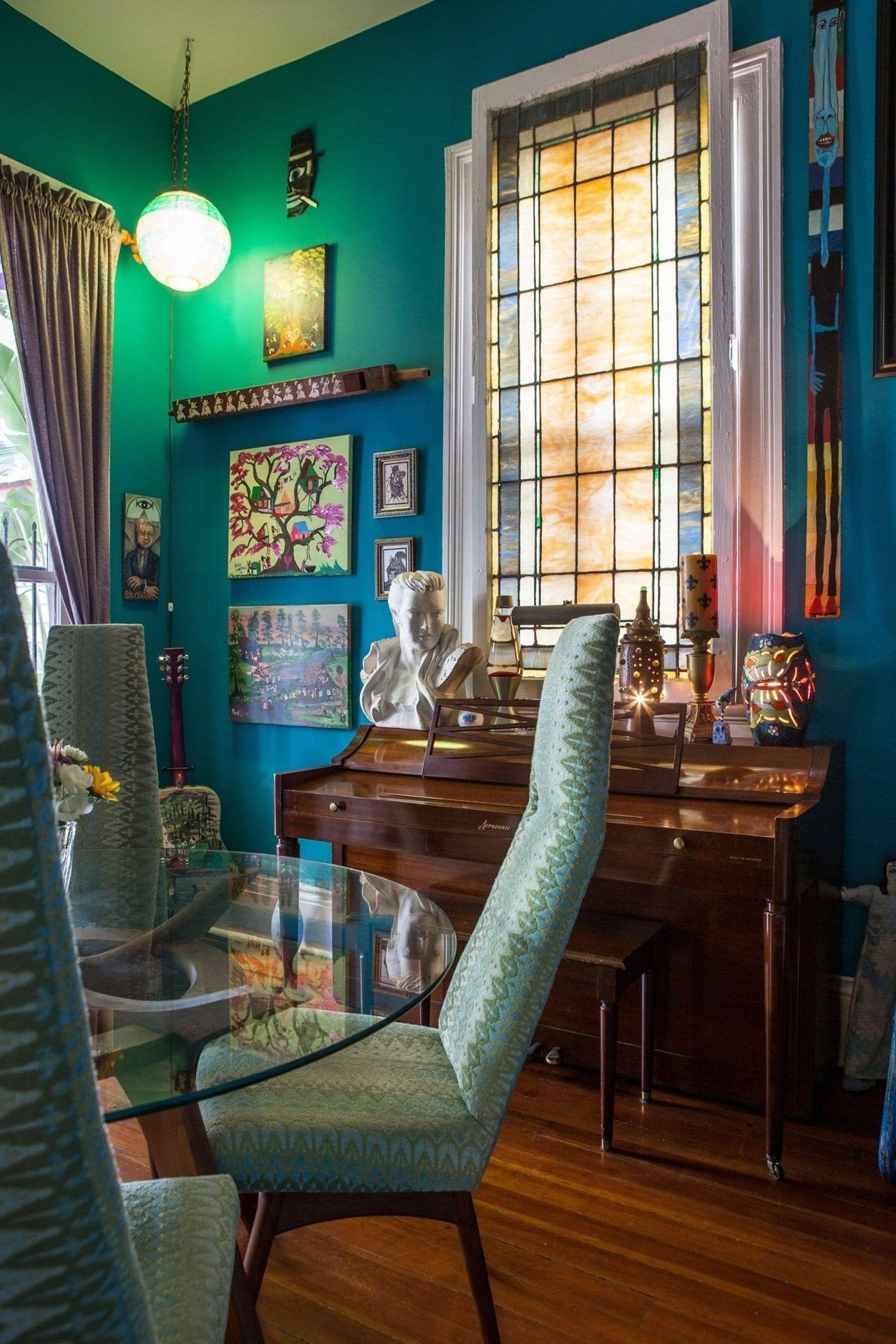 New orleans Style Home Decor Beautiful A Vibrant Colorful Art Filled New orleans Home Design Inspiration