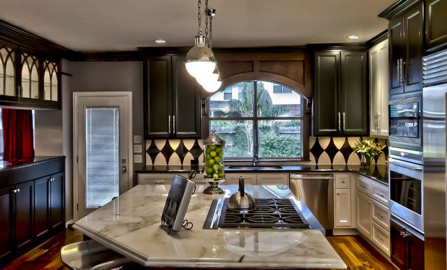 "New orleans Style Home Decor New ""new orleans themed"" Kitchen and Baths Transitional Kitchen Houston by Sweetlake"