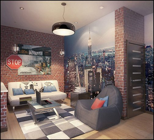 New York City Bedroom Decor Awesome Decorating theme Bedrooms Maries Manor New York Style Loft Living Modern Contemporary