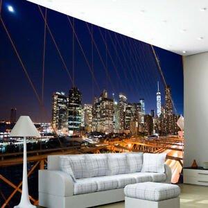 New York City Bedroom Decor Inspirational New York City Brooklyn Bridge Wallpaper Wall Mural Skyline Bedroom Decor