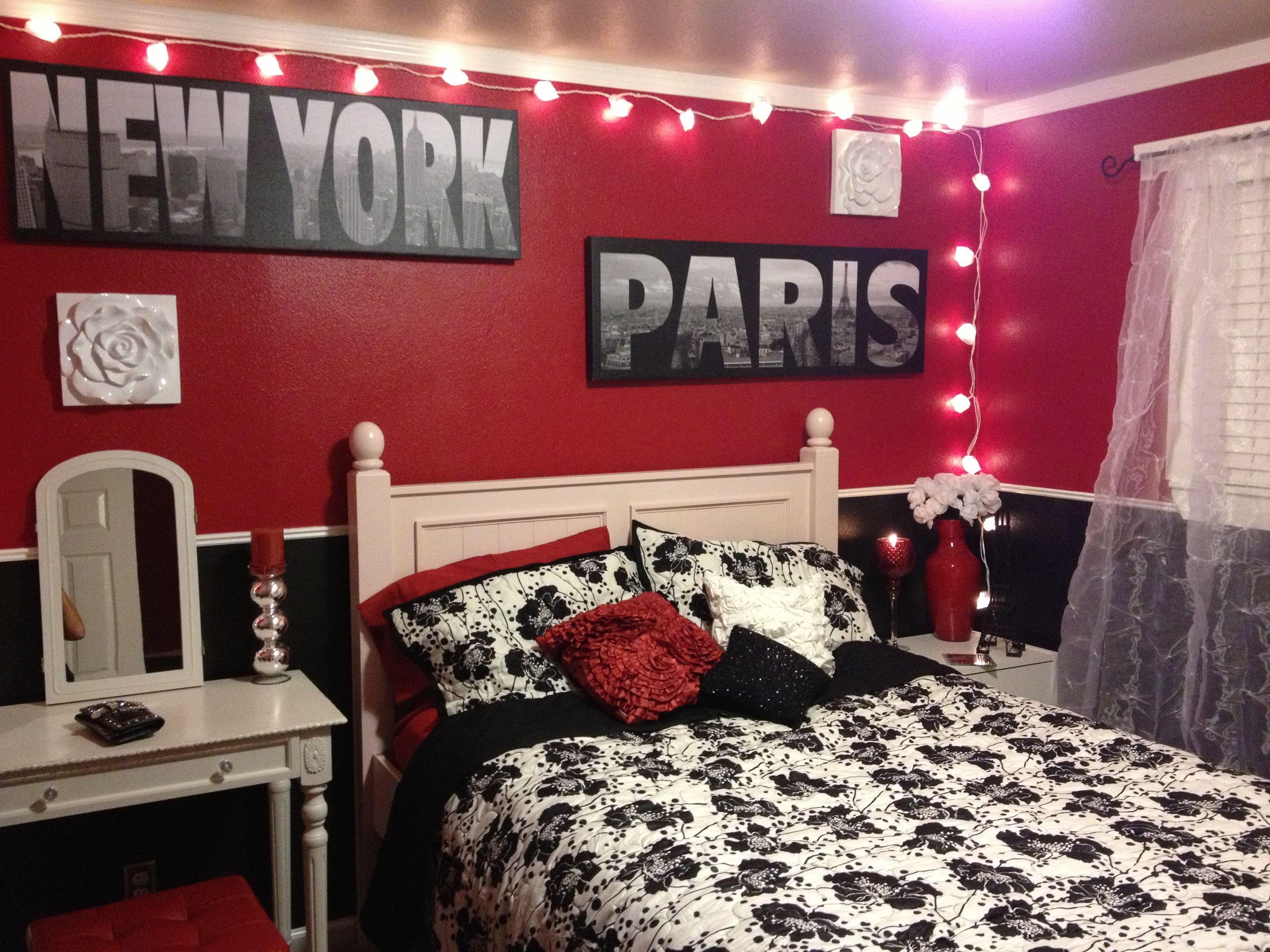 New York City Bedroom Decor Luxury London Paris New York Bedroom Room