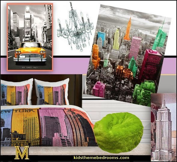 New York City Bedroom Decor Unique New York themed Bedroom Decor
