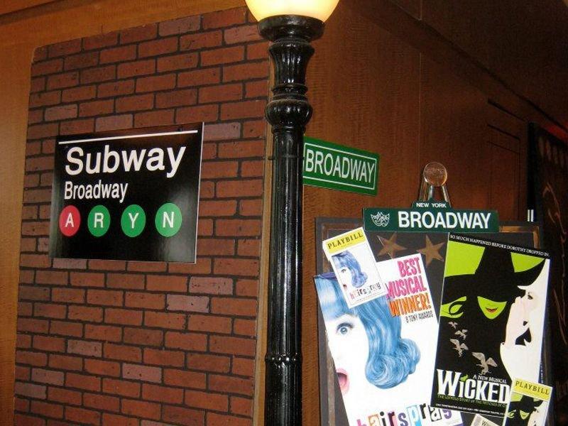 New York themed Home Decor Lovely Broadway themed Party Broadway theme Party Planning In New York City