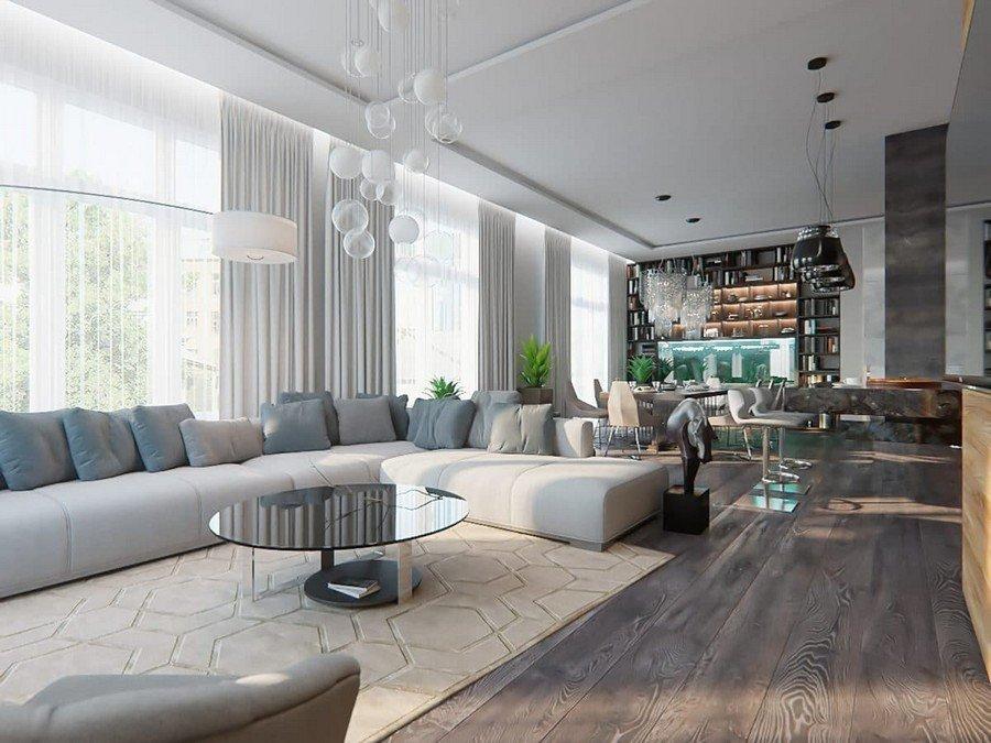 Open Concept Living Room Ideas Best Of Gorgeous Open Concept Living Room In Contemporary Style
