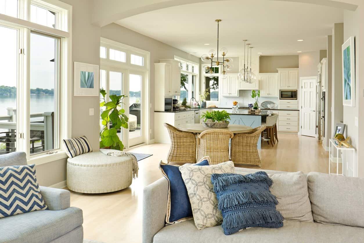 Open Concept Living Room Ideas Unique 42 Open Concept Kitchen Living Room and Dining Room Floor Plan Ideas