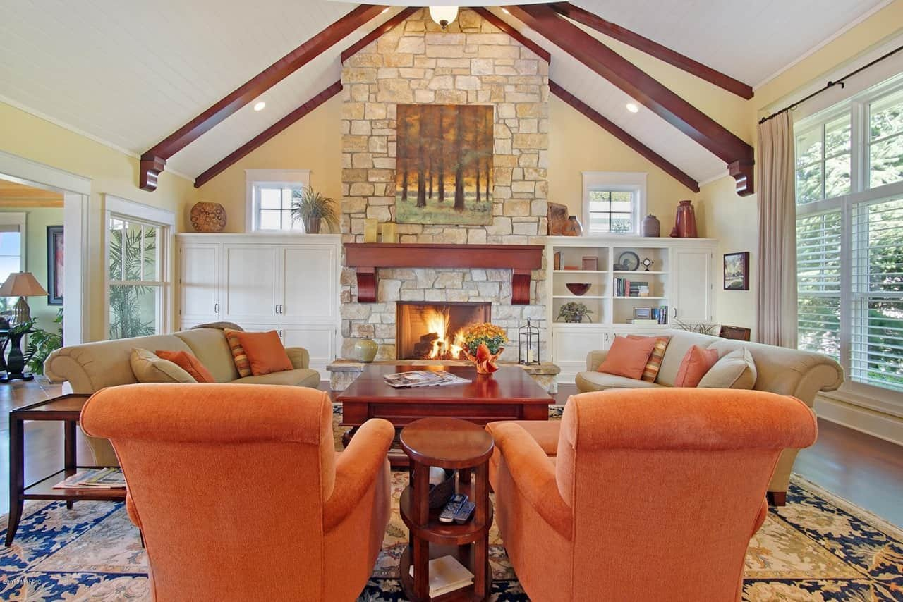 Orange Traditional Living Room Awesome 100 Traditional Living Room Ideas for 2019