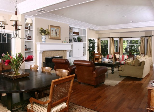 Orange Traditional Living Room Beautiful Newport Beach Plantation Style Traditional Living Room orange County by Grady O Grady