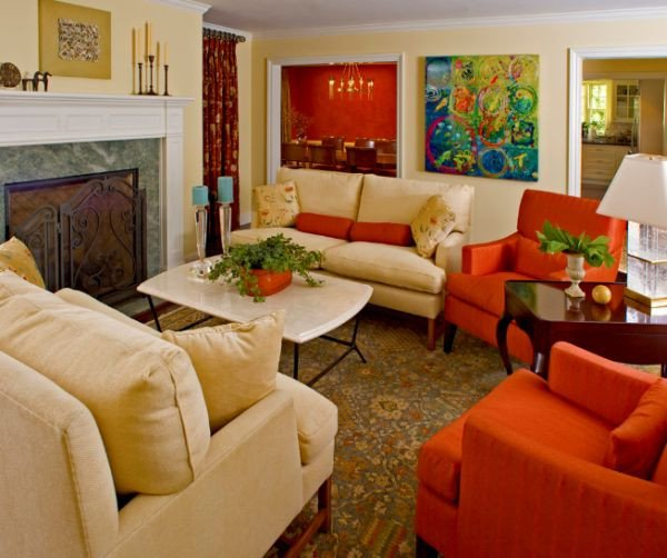 Orange Traditional Living Room Best Of 10 Traditional Living Room Décor Ideas