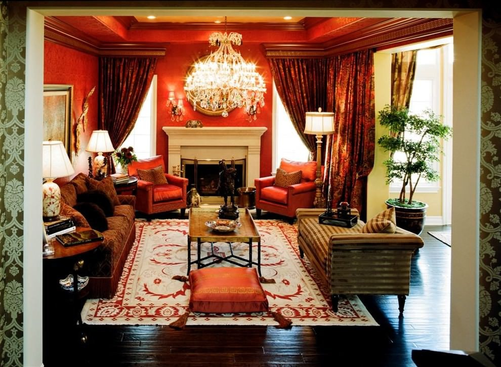 Orange Traditional Living Room Best Of 25 Red Living Room Designs Decorating Ideas