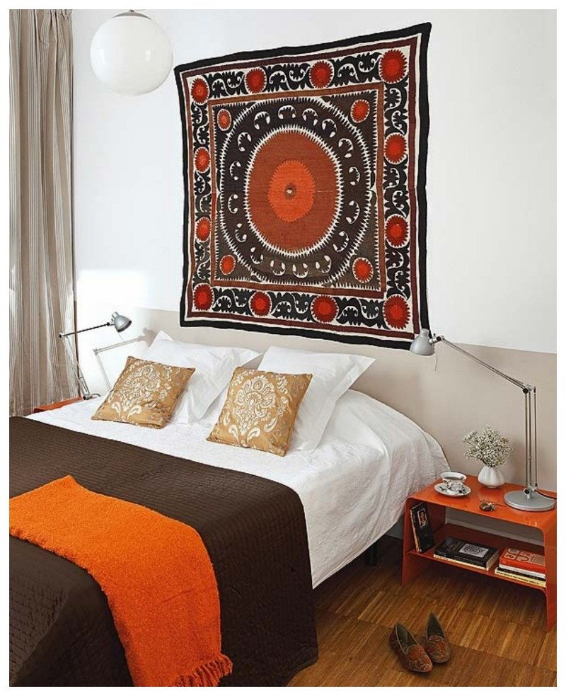 Over the Bed Wall Decor Elegant Global Decor and Little Silk Road Shop Giveaway Closed Nomad Luxuries