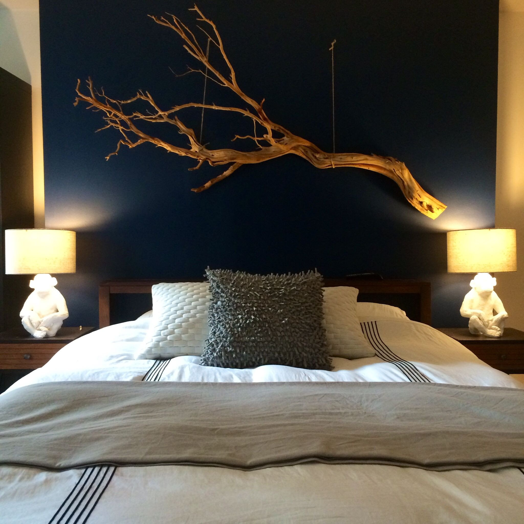 Over the Bed Wall Decor Fresh Driftwood Art Over Bed Renos Pinterest