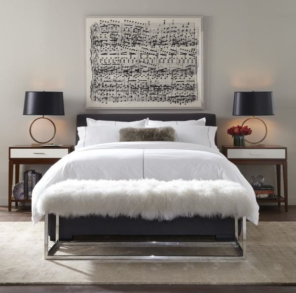 Over the Bed Wall Decor Inspirational Musically Inspired Furniture and Decorations for Your Home