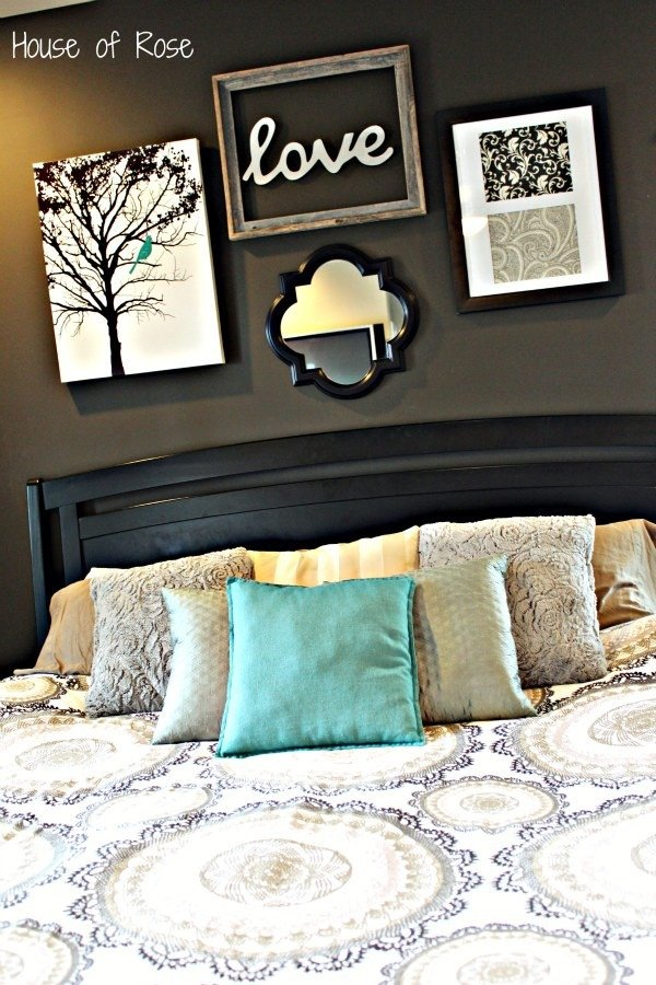 Over the Bed Wall Decor Lovely Master Bedroom Wall Makeover