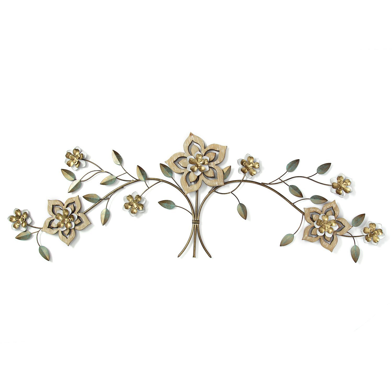 Over the Door Wall Decor Elegant Stratton Home Decor Wood Flower Over the Door Wall Decor
