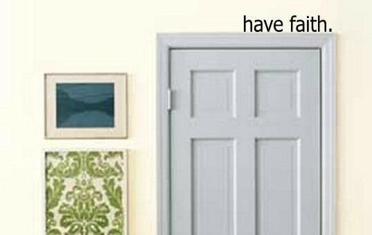 Over the Door Wall Decor Fresh Have Faith Over the Door Vinyl Wall Art Decal Quote Words Lettering Decor