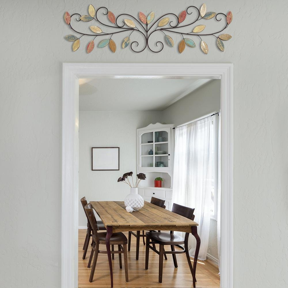 Over the Door Wall Decor Fresh Stratton Home Decor Wooden Leaves Over the Door Wall Decor S the Home Depot