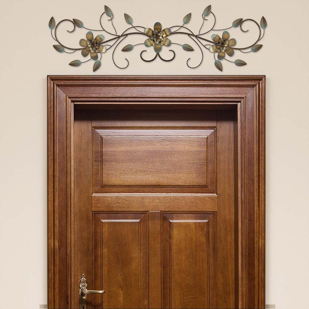 Over the Door Wall Decor Lovely Lovely Metal Vine Over the Door Wall Decor S the Home Depot